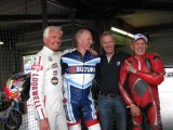 Brother David telling us how the others are Slow Phil Read MBE and Wil Hartog just laughed 2010