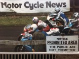 David At Scarborough, with Steve Parish, Keith Huewen Mark Salle