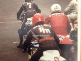 David At Scarborough With Barry Sheene and Rob Mac