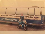 David with the Race coach and MK9 Suzuki