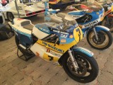Goodwood Festival Of Speed Tribute to Barry Sheene 40 Years since he won his World Championship, XR35 Suzuki,  Freddie Sheene Steve Griffith, John Moulds all riding Steve Wheatmans fantastic Machines