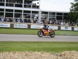 2016 Goodwood Festival Of Speed Tribute to Barry Sheene 40 Years since he won his World Championship,