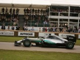 Championship leader Nico Rosberg Mercedes benz F1 WO5 Hybrid 2016 Goodwood festival of Speed