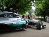 Nico Rosberg F1 championship leader, 2016 Goodwood Festival of Speed
