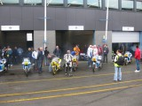 Spa 2010 Classic team Suzuki getting ready for the Big day