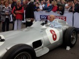 Goodwood festival of Speed Sir Stirling Moss