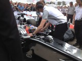 Jenson Button at Goodwood festival of speed Made time to talk to us bikers